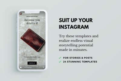 Lush: 24 Instagram Templates