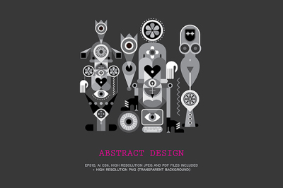 Abstract Art Design Project /bundle