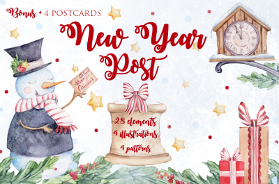NEW YEAR POST SALE!