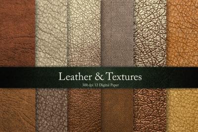 Bronze Leather Textures