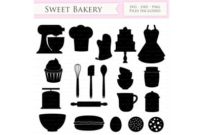 Baking SVG Bakery svg Cutting Files
