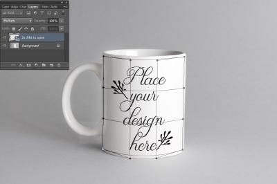 Coffee mug mockup white cup mock up psd smart neutral mock ups
