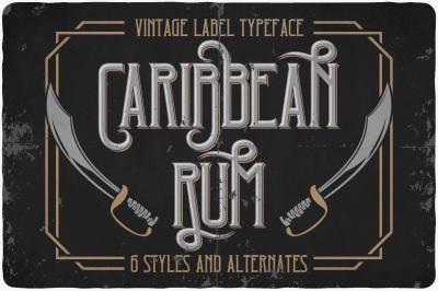 Caribbean Rum Typeface