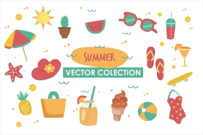 Summer Vector Collection