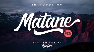 Matane Typeface