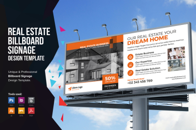 Real Estate Billboard Signage