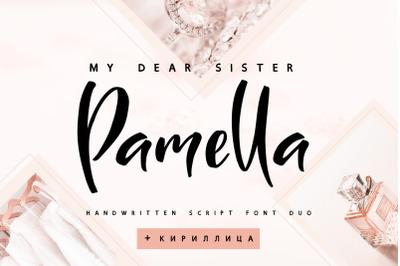 Sister Pamella Font Cyrillic Duo