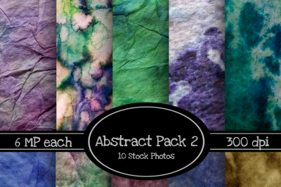 10 Pack of Abstract Paper Backgrounds Pack 2