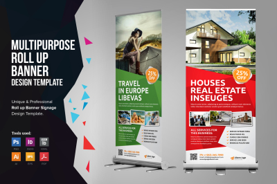 Multipurpose Roll up Banner Signage v2