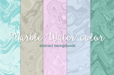 Marble Water color abstract backgrounds
