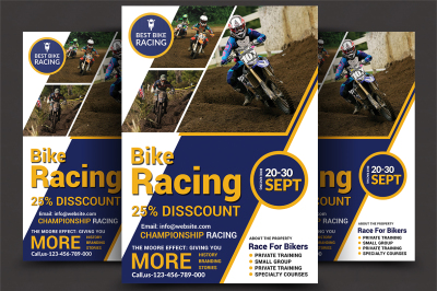 Bike Racing Flyer