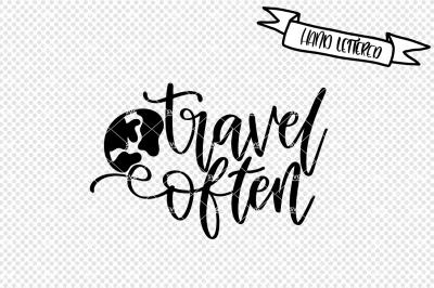 Travel often svg cut file, holiday svg