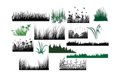 Download Grass Silhouette Svg Dxf Png Eps Ai Free Logo Generator Svg Cut Free Downloads