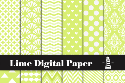 Lime Digital Paper