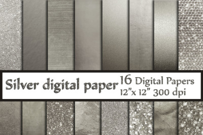 Silver Digital Paper,SILVER FOIL PAPERS