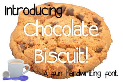 Chocolate Biscuit font
