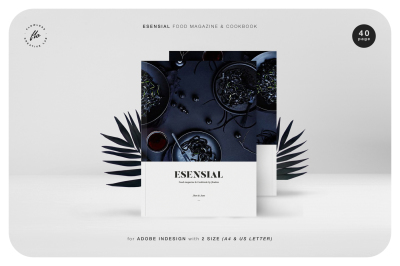 ESENSIAL Food Magazine & Cookbook