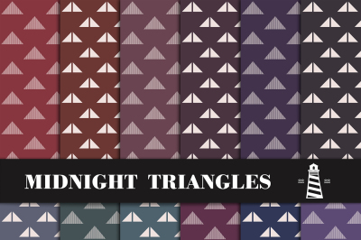 Triangle Paper Dark Tone Backgrounds