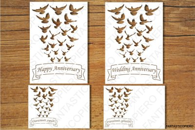 Happy Birthday, Happy Anniversary, Wedding Anniversary, Greeting Card