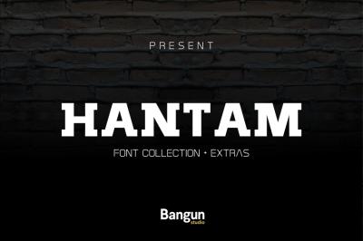 Hantam ( 5 Font)
