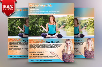 Yoga Fitness Flyer