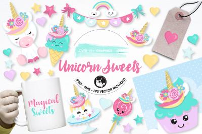 Unicorn sweets