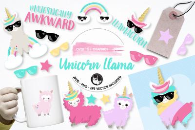 Unicorn llamas