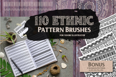 Ethnic Pattern Brushes
