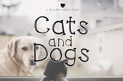 Cats and Dogs - A Fun Handwritten Script