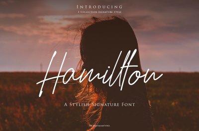 Hamillton Script Font