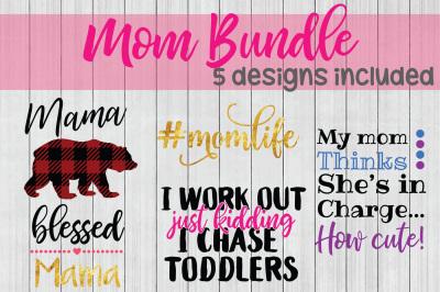 Mom SVG Bundle, Mother SVG, Mom Life SVG, Cuttable File
