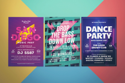 Music Flyer Bundle