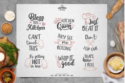 Kitchen Svg Bundle - Kitchen Utensils Svg - Chef Svg - Kitchen Towel S