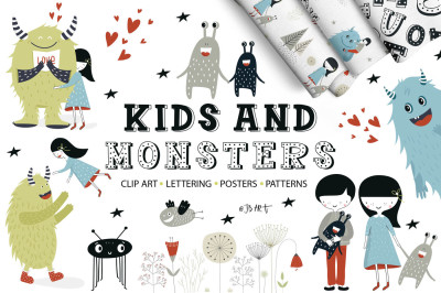 Kids and Monsters