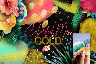Colofrul Mess & Gold