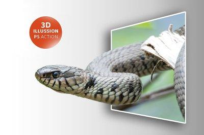 3D Pop Out Photo Illusion