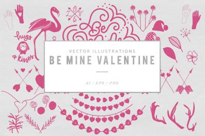 Be Mine Valentine Graphics