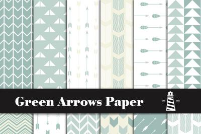 Green Arrows Patterns