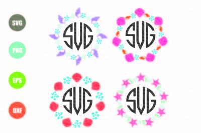 Seashell Monogram SVG