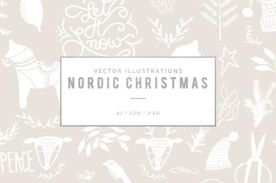 Nordic Christmas Graphics