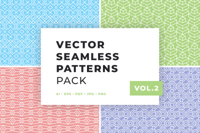 Vector Seamless Patterns Pack Vol.2