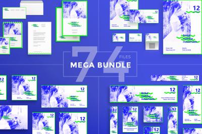 Design templates bundle | flyer, banner, branding | Bridal Makeup
