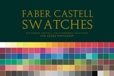 Faber Castell Polychromos Swatches