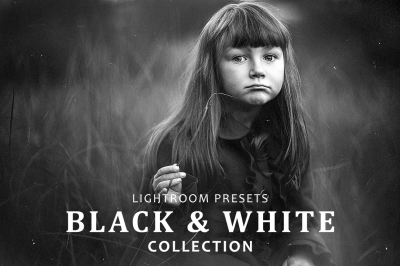 Black & White collection 50 Lightroom Presets