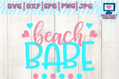 beach babe, summer svg, beach svg, beach vector, nautical svg, png