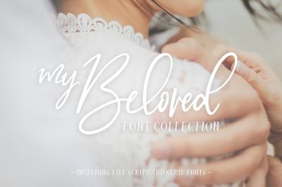 My Beloved ~ Script & Serif Font