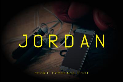 Jordan Sport Font