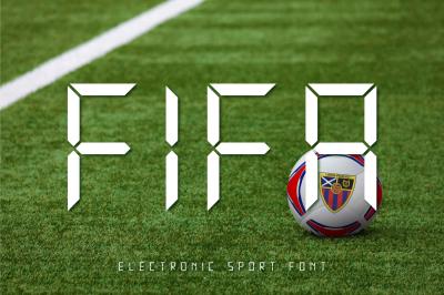 Electronic Sport Font