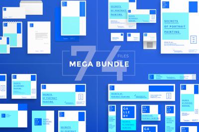 Design templates bundle | flyer, banner, branding | Painting Lessons