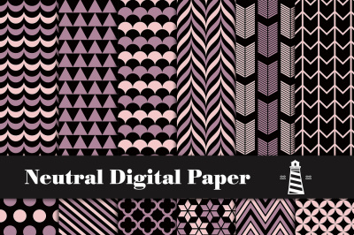 Neutral Digital Paper Pack
